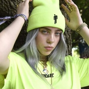 💚Billie Eilish Neon Green Beanie💚
